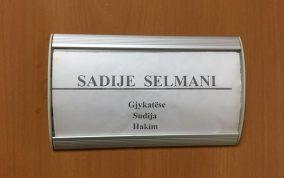 Foto, gjyqtarja Sadije Selmani