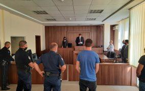 Foto nga gjykimi, 4 shtator, vjedhje e rende